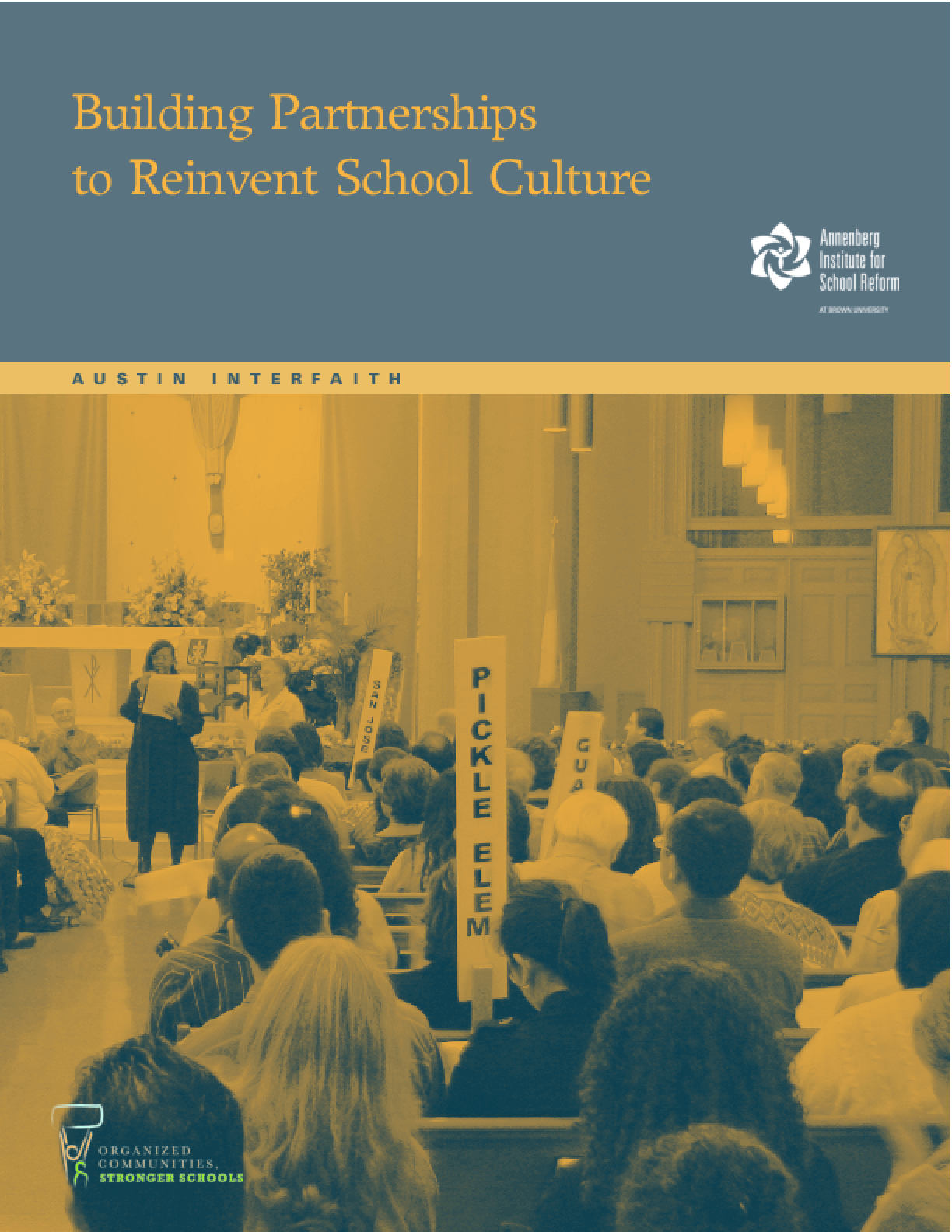 Building Partnerships to Reinvent School Culture