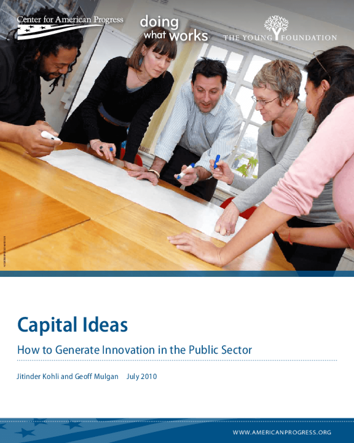 Capital Ideas: How to Generate Innovation in the Public Sector