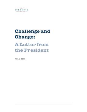 Challenge and Change: A Letter From President Gara LaMarche