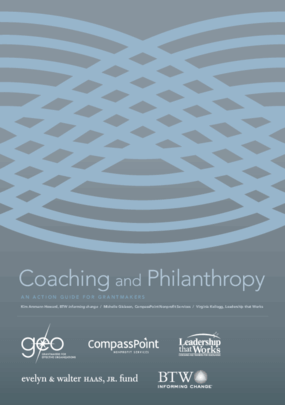 Coaching and Philanthropy: An Action Guide for Grantmakers