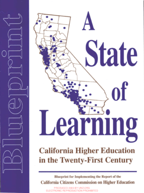 A State of Learning: California and the Dream of Higher Education in the Twenty-First Century