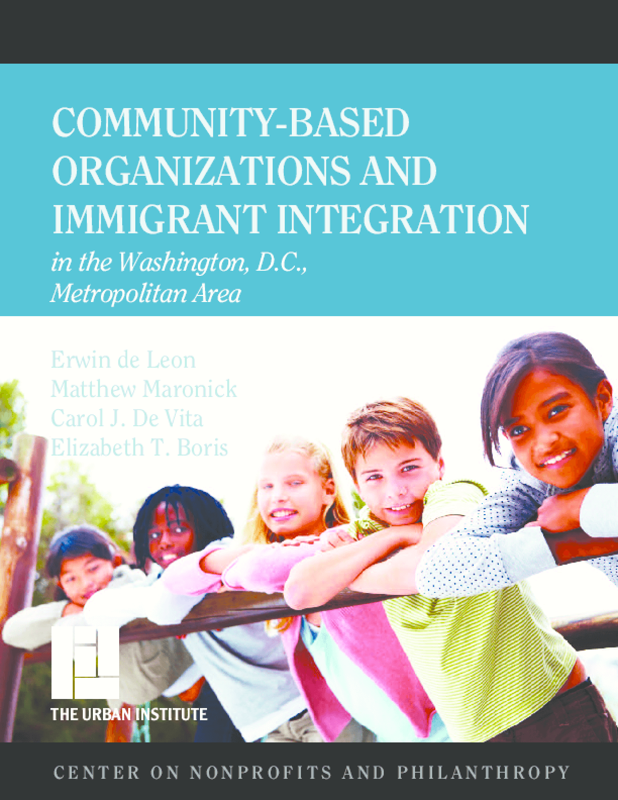 Community-Based Organizations and Immigrant Integration in the Washington, D.C., Metropolitan Area