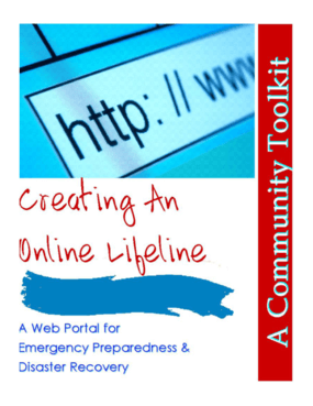 Creating an Online Lifeline: A Web Portal for Emergency Preparedness & Disaster Recovery