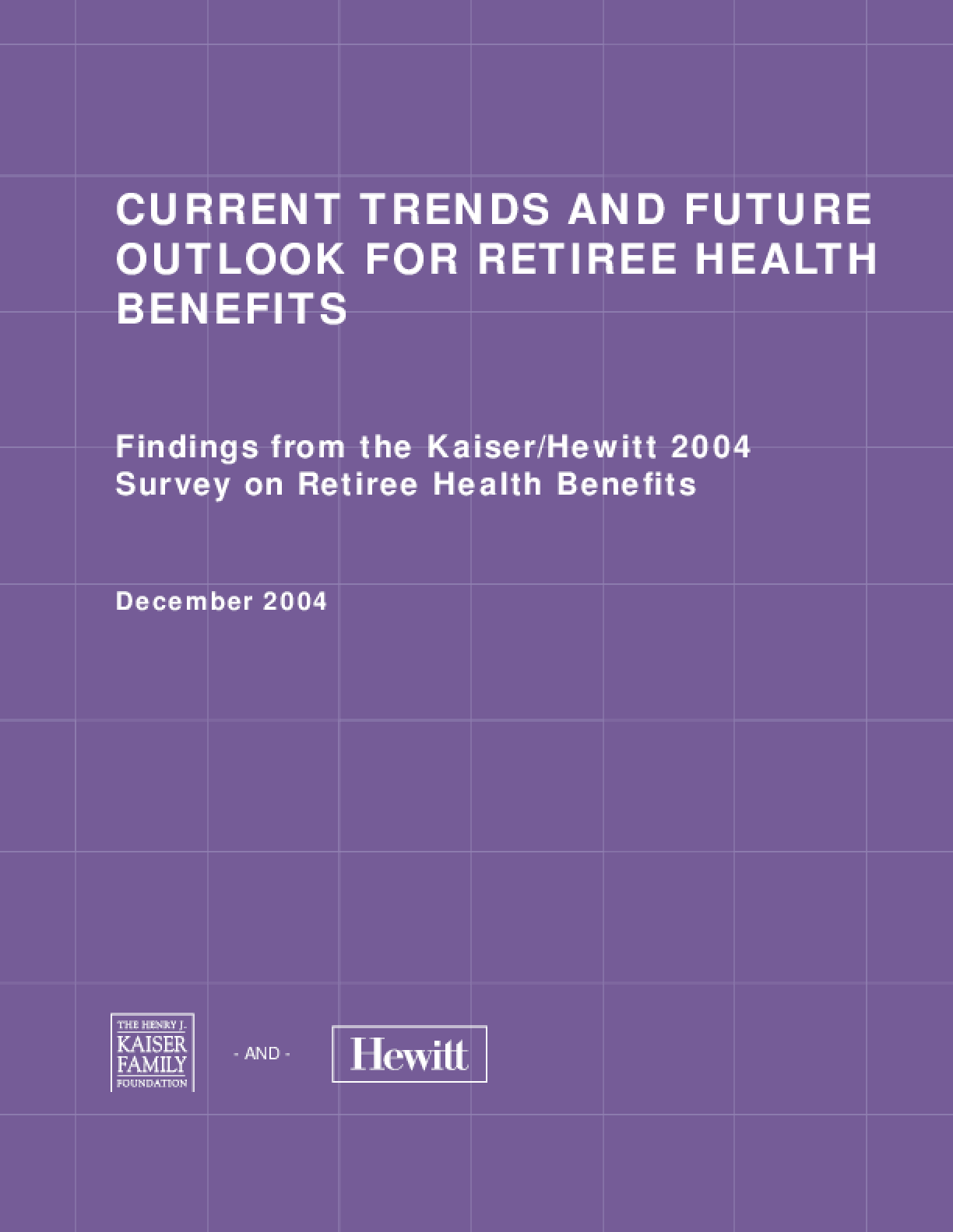 Current Trends and Future Outlook for Retiree Health Benefits
