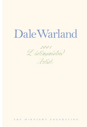 Dale Warland: 2001 Distinguished Artist