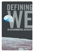 "Defining ""We"" In Environmental Advocacy"