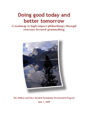 Doing Good Today and Better Tomorrow: A Roadmap to High Impact Philanthropy Through Outcome-Focused Grantmaking