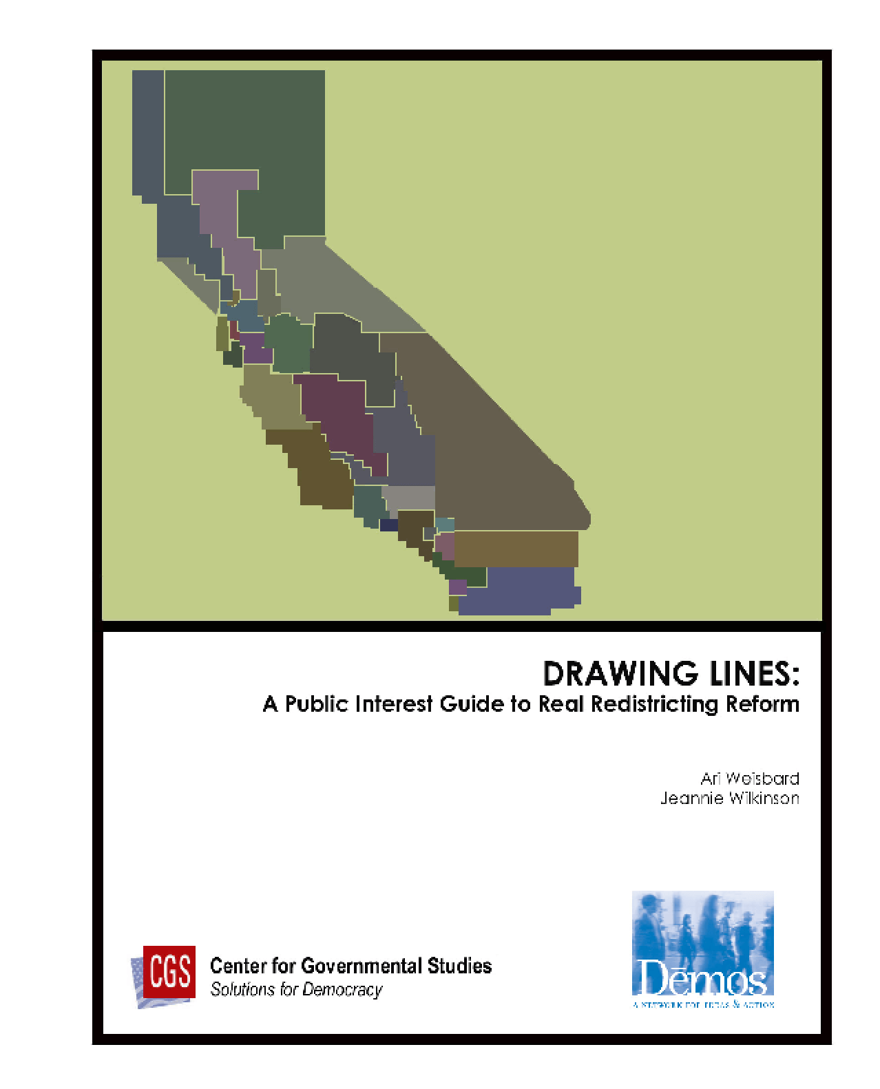 Drawing Lines: A Public Interest Guide to Real Redistricting Reform