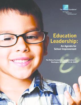 Education Leadership: An Agenda for School Improvement