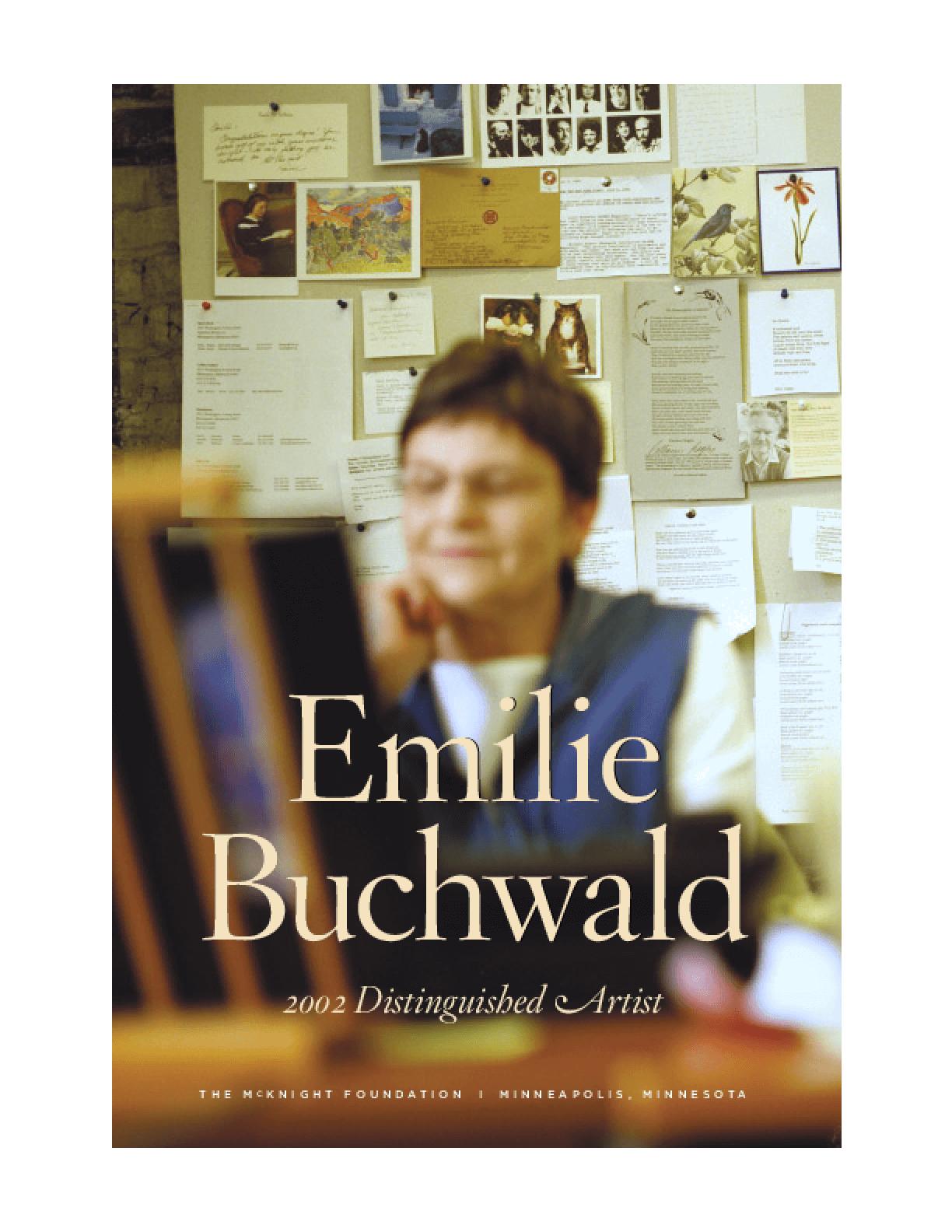 Emilie Buchwald: 2002 Distinguished Artist