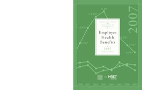 Employer Health Benefits: 2007 Annual Survey
