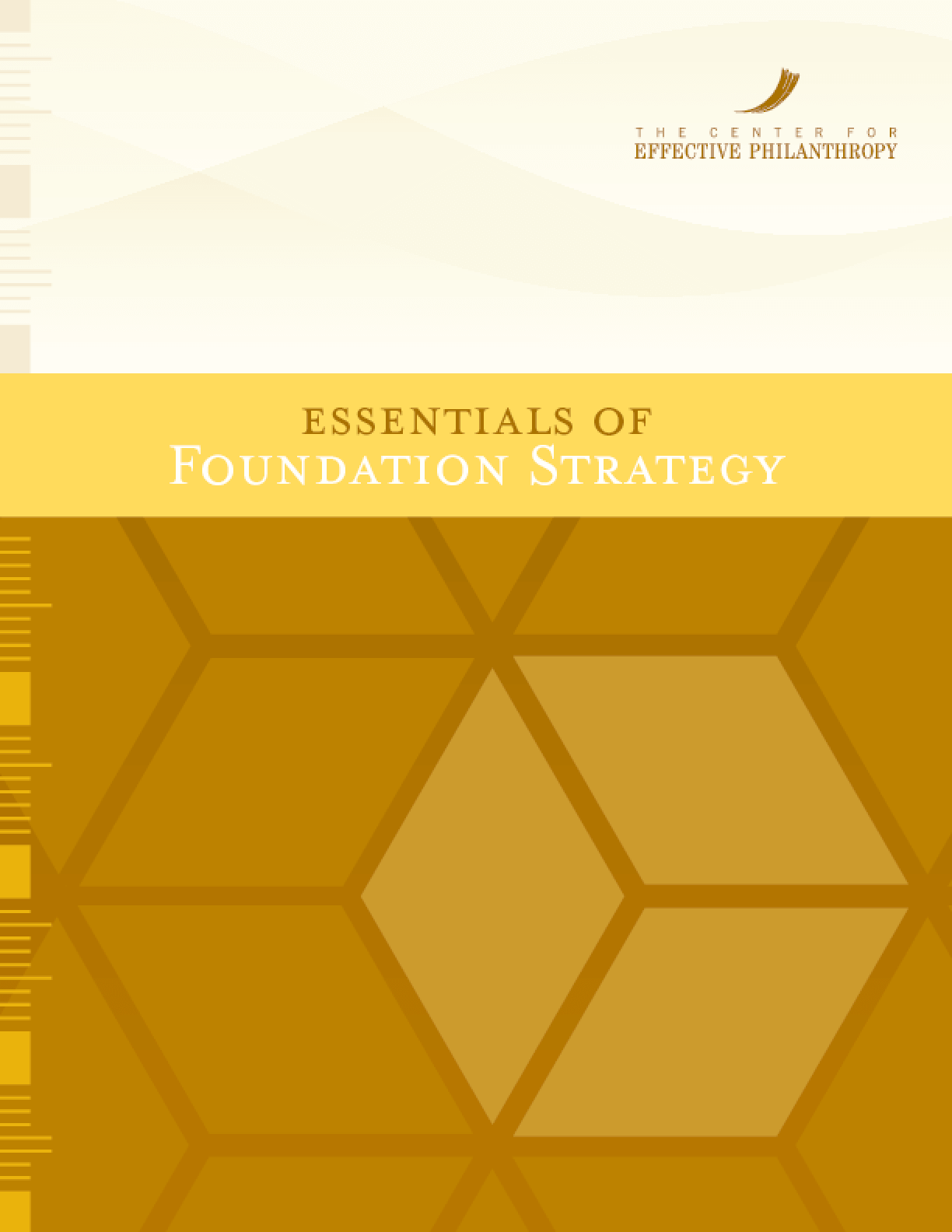Essentials of Foundation Strategy