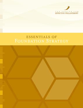 Essentials of Foundation Strategy