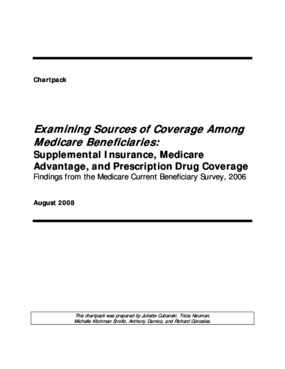 Examining Sources of Coverage Among Medicare Beneficiaries: Supplemental Insurance, Medicare Advantage, and Prescription Drug Coverage