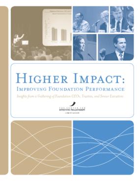 Higher Impact: Improving Foundation Performance