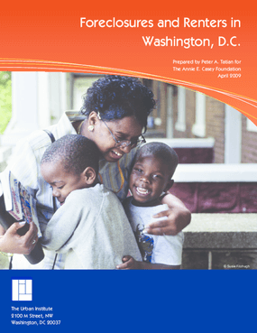 Foreclosures and Renters in Washington, DC