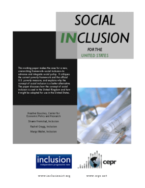 Social Inclusion for the United States