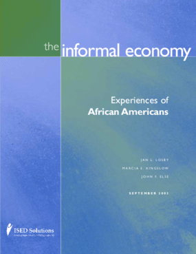 The Informal Economy: Experiences of African Americans