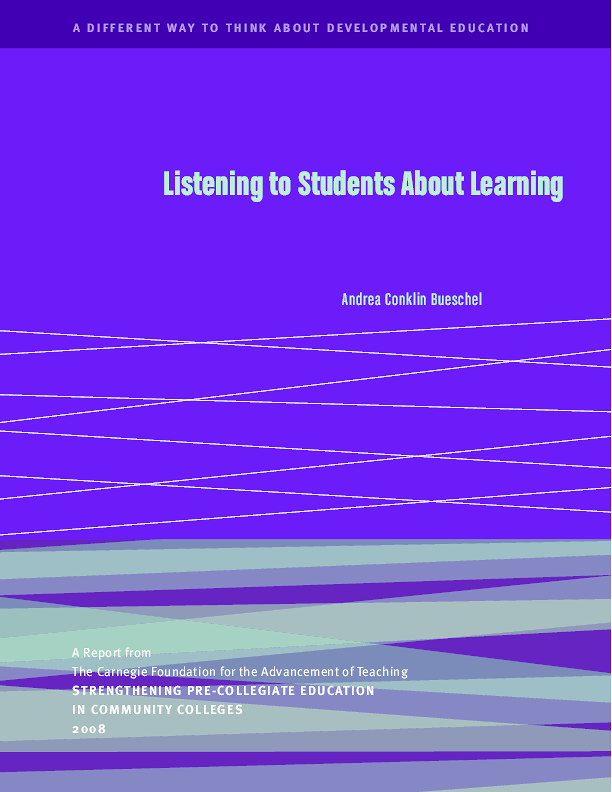 Listening to Students About Learning