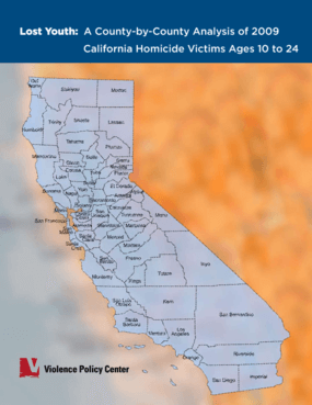 Lost Youth: A County-by-County Analysis of 2009 California Homicide Victims Ages 10 to 24