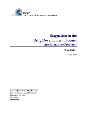 Stagnation in the Drug Development Process: Are Patents the Problem?
