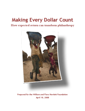 Making Every Dollar Count: How Expected Return Can Transform Philanthropy