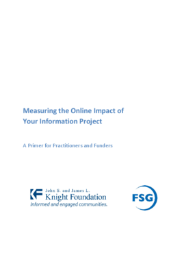 Measuring the Online Impact of Your Information Project: A Primer for Practitioners and Funders