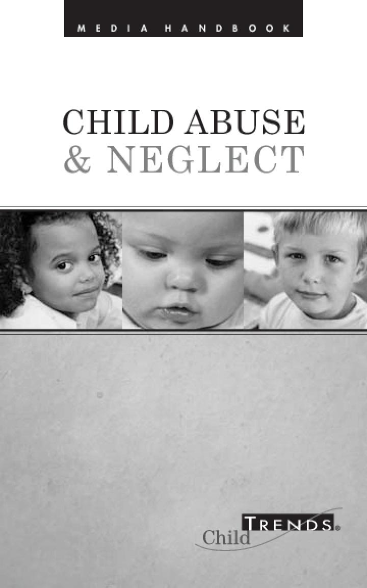 Media Handbook: Child Abuse & Neglect