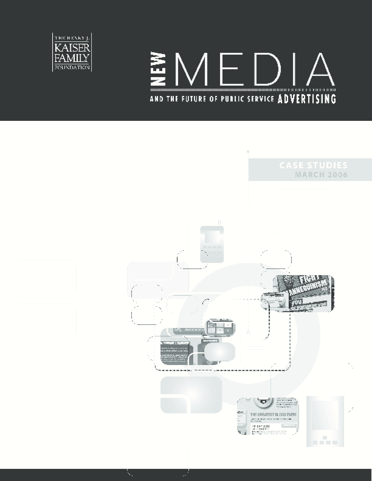 New Media and the Future of Public Service Advertising: Case Studies