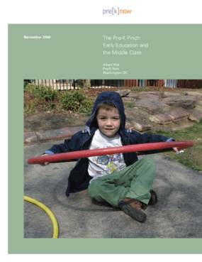 The Pre-K Pinch: Early Education and the Middle Class