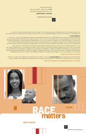 Race Matters: User's Guide