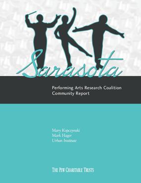 Sarasota Performing Arts Research Coalition Community Report