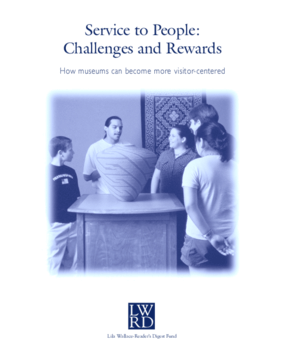 Services to People: Challenges and Rewards. How Museums Can Become More Visitor-Centered