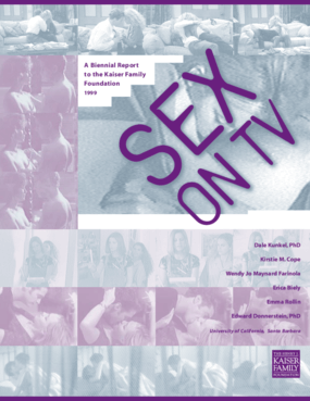 Sex on TV: Content and Context