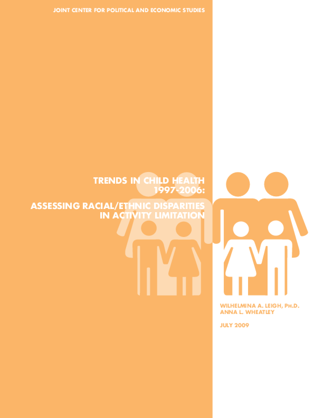 Trends in Child Health 1997-2006: Assessing Racial/Ethnic Disparities in Activity Limitation