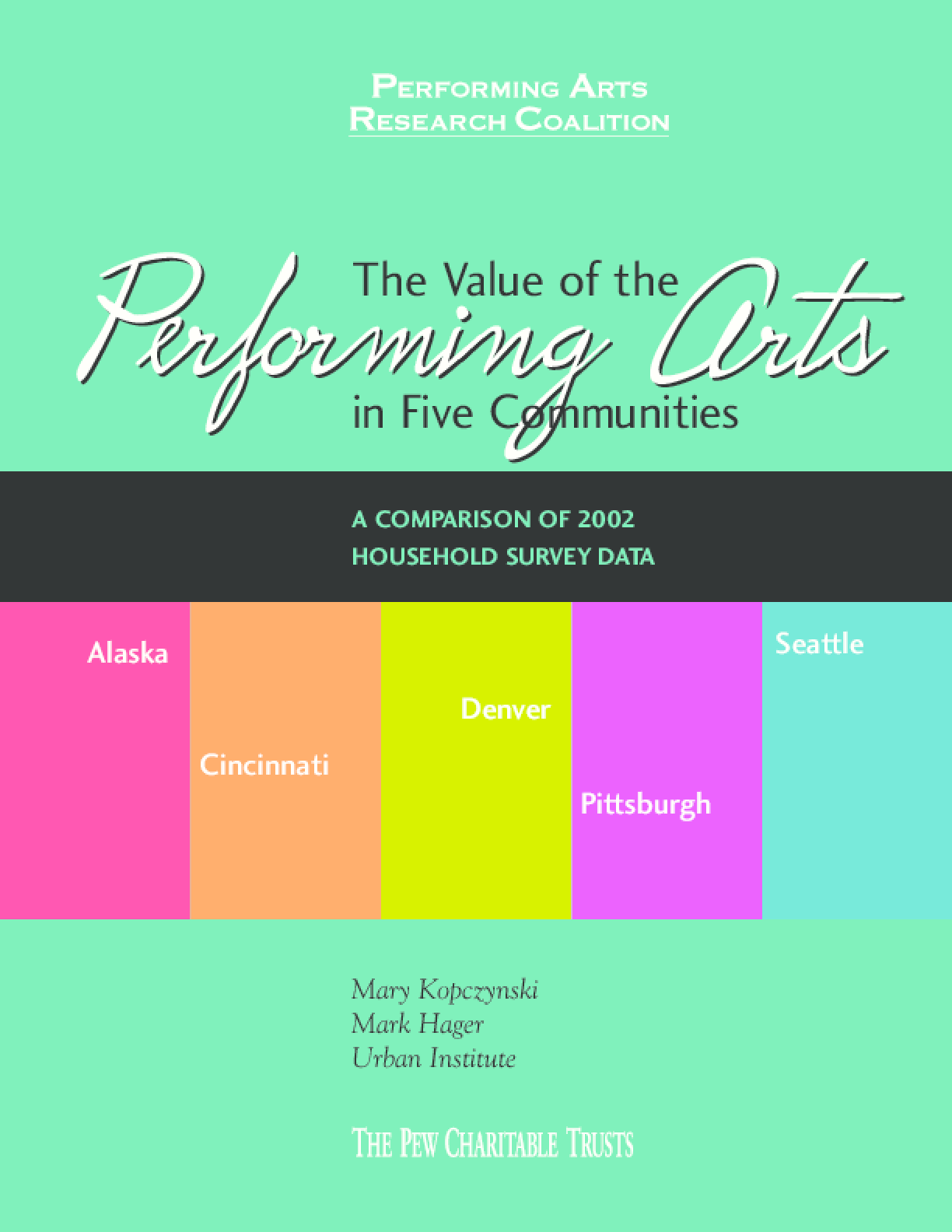 The Value of the Performing Arts in Five Communities
