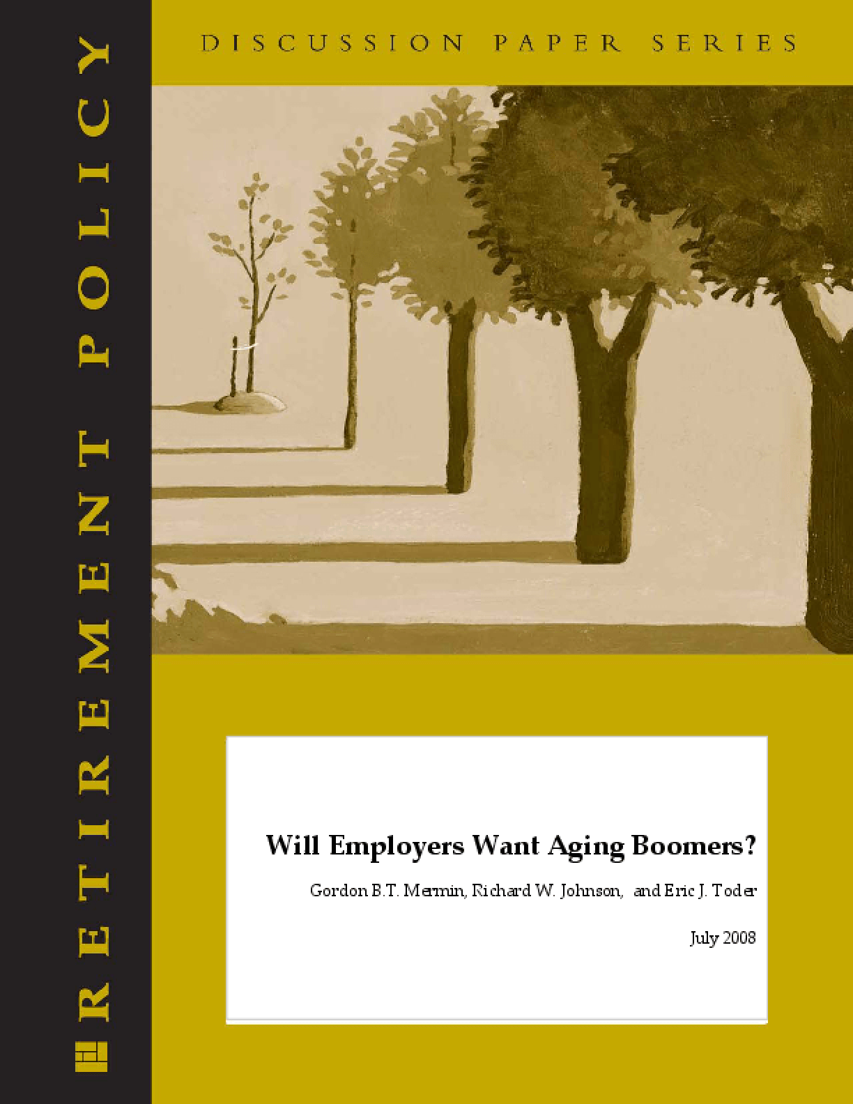 Will Employers Want Aging Boomers?