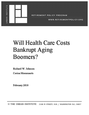 Will Health Care Costs Bankrupt Aging Boomers?