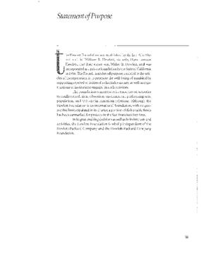 William and Flora Hewlett Foundation - 2002 Annual Report