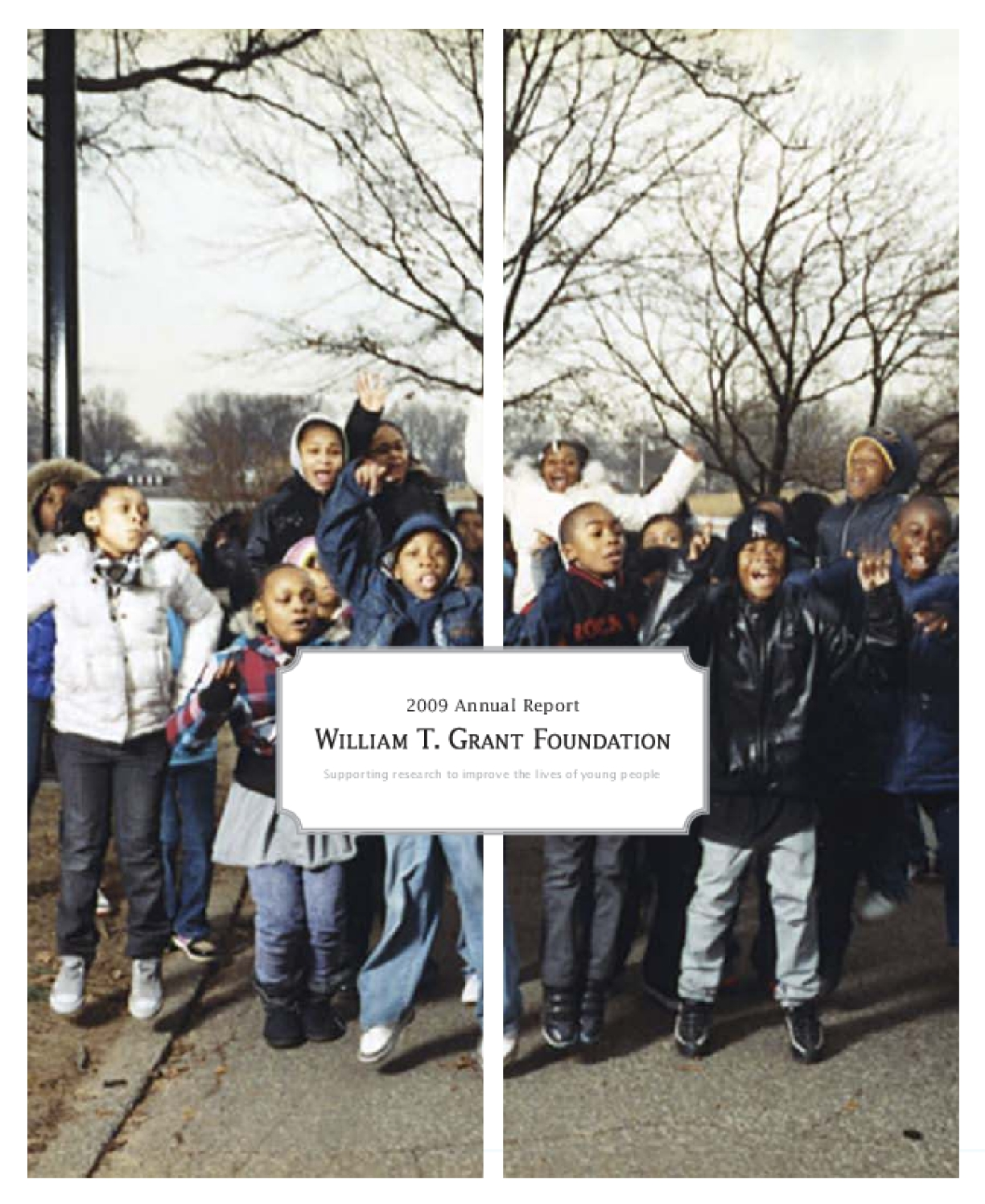William T. Grant Foundation - 2009 Annual Report
