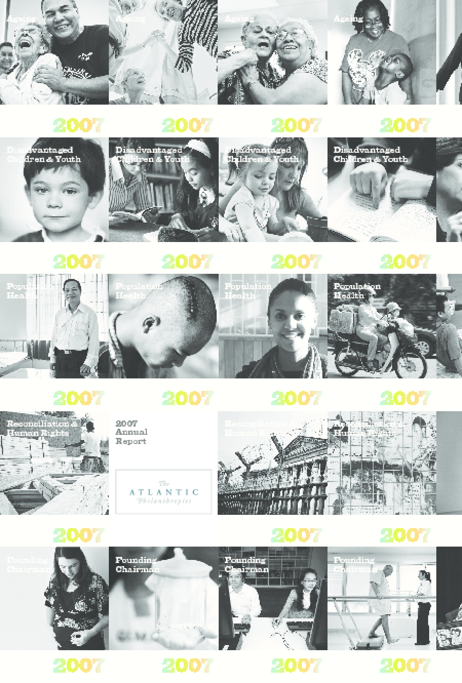 Atlantic Philanthropies - 2007 Annual Report