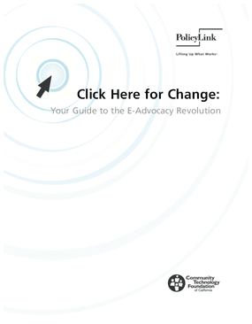 Click Here for Change: Your Guide to the E-Advocacy Revolution