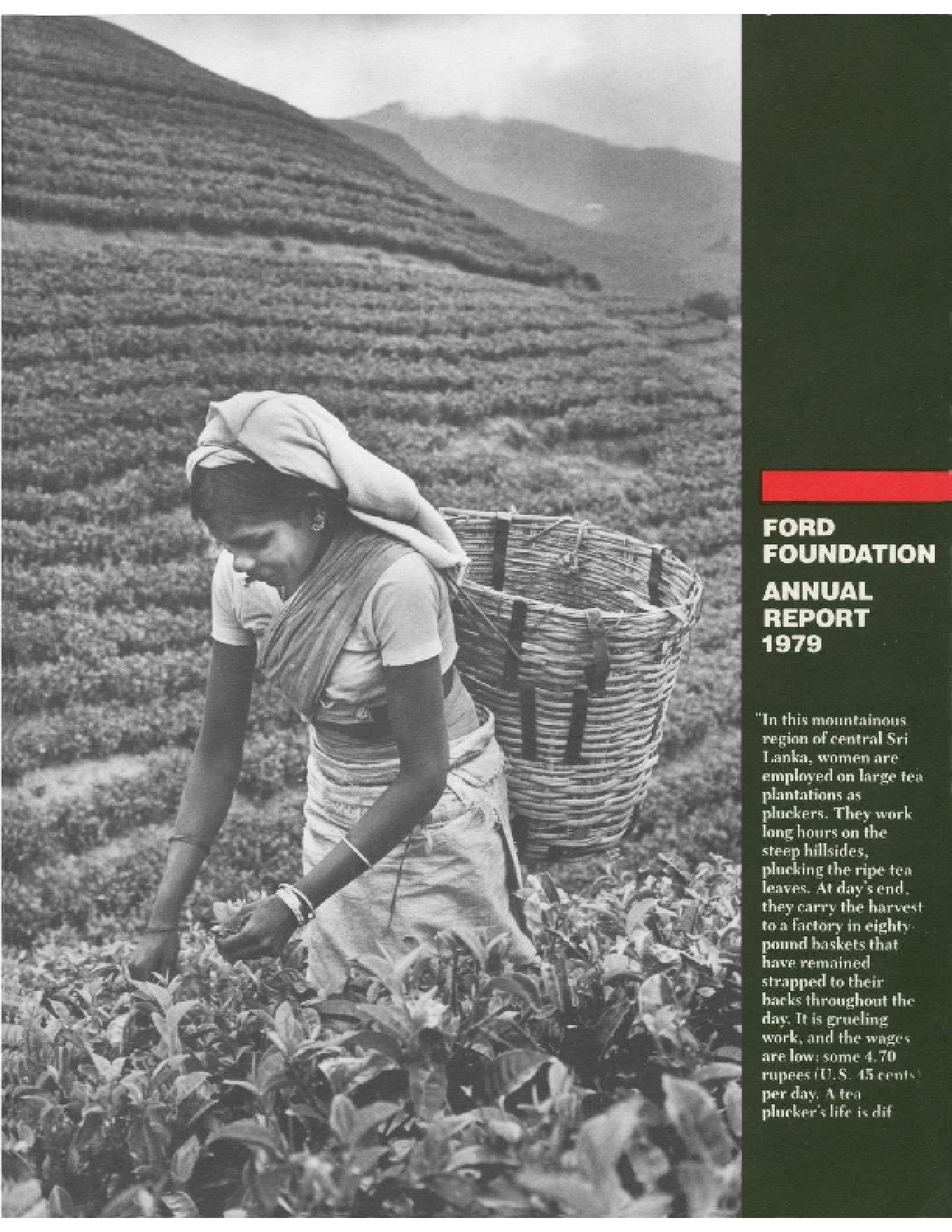 Ford Foundation - 1979 Annual Report