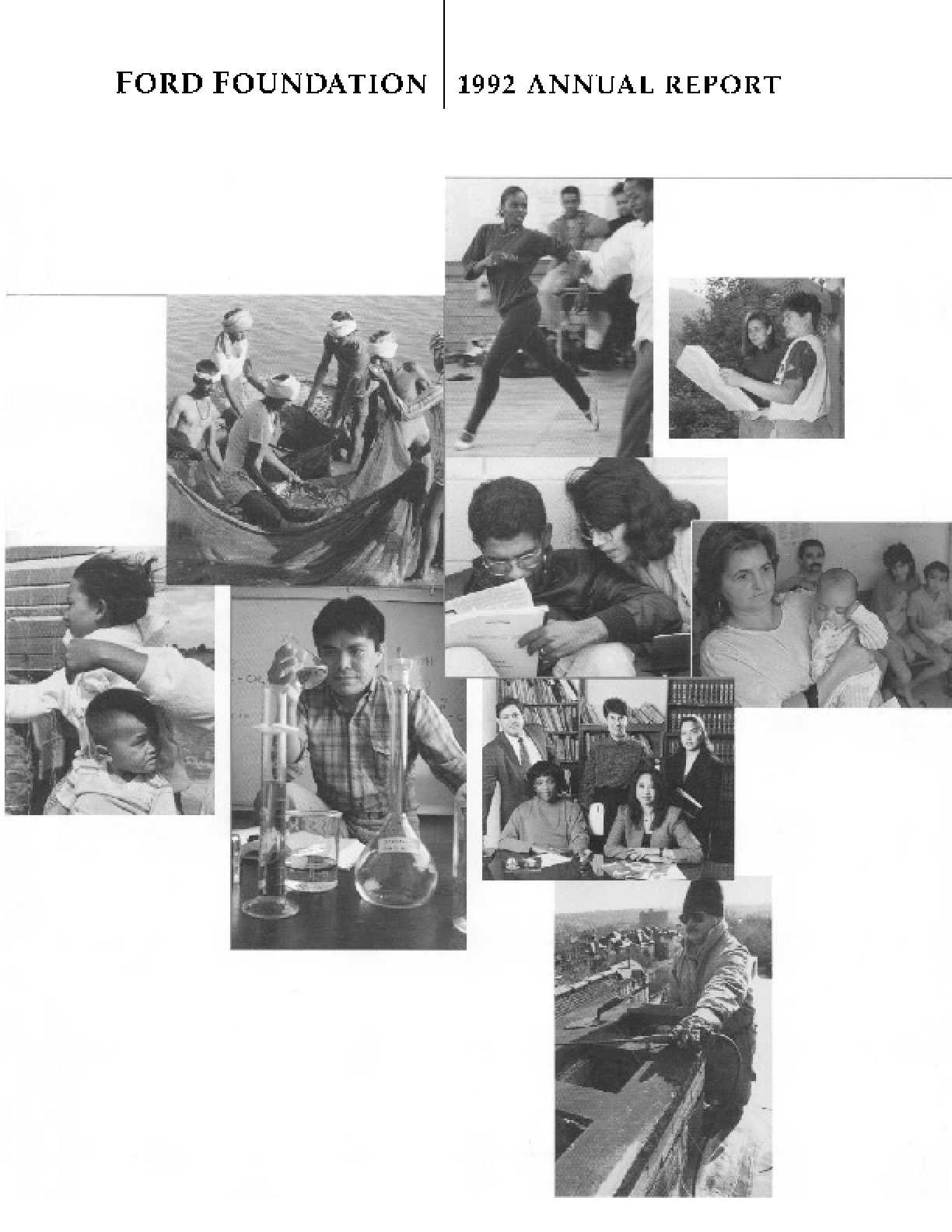 Ford Foundation - 1992 Annual Report