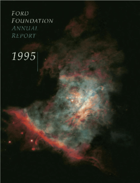 Ford Foundation - 1995 Annual Report