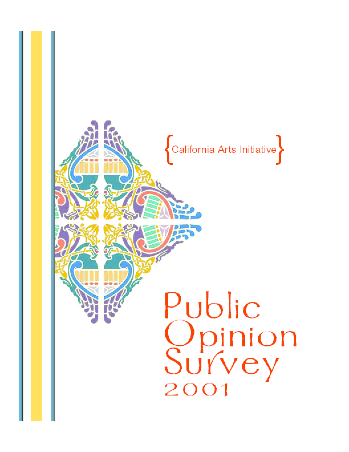 2001 Public Opinion Survey