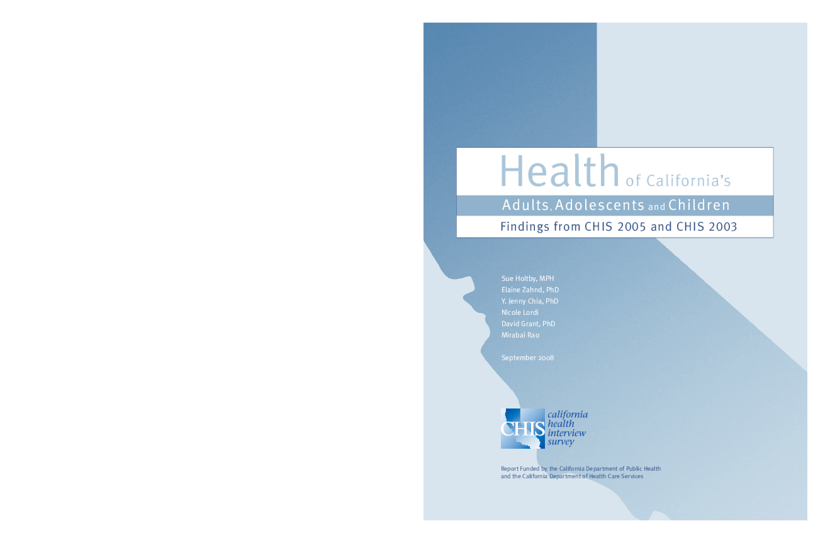 2005 California Health Interview Survey
