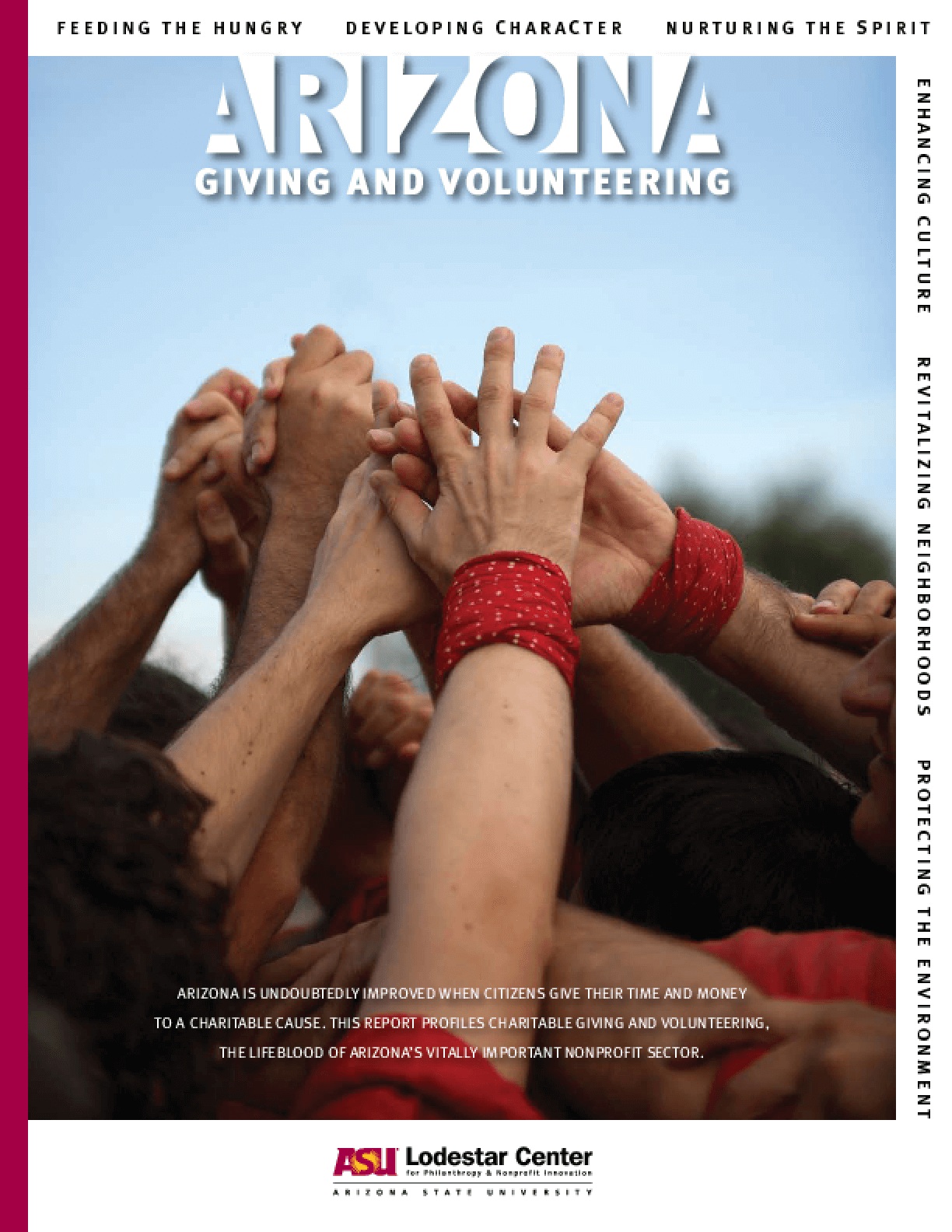 2008 Arizona Giving and Volunteering Report