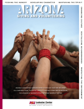 2008 Arizona Giving and Volunteering Report