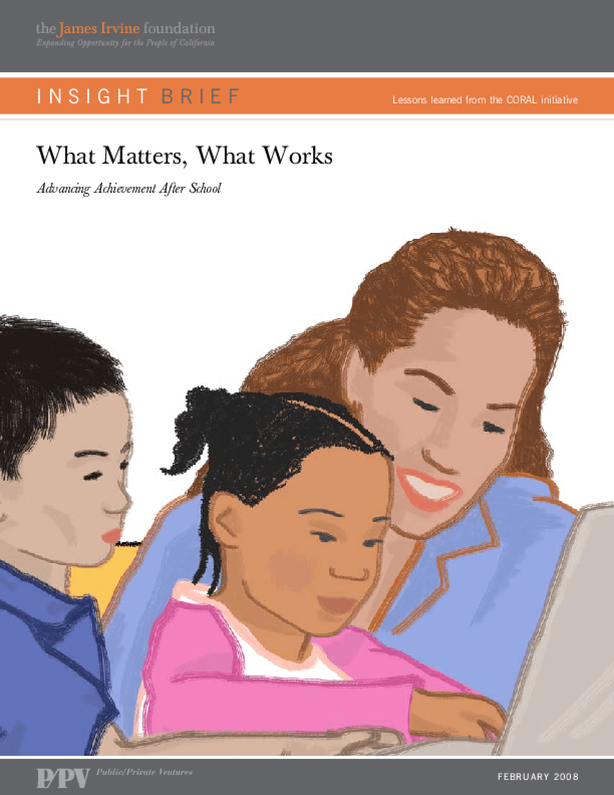 What Matters, What Works: Advancing Achievement After School